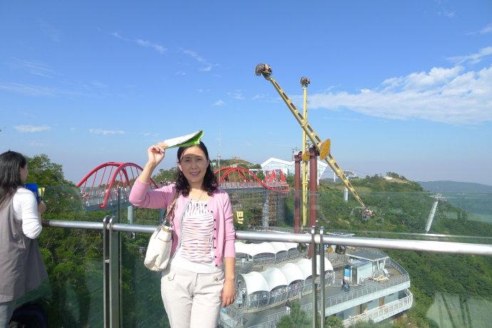 深圳的蓝天白云