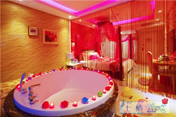 情侣酒店的浴缸