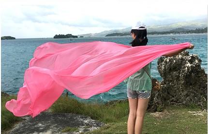 浪漫品質絲巾